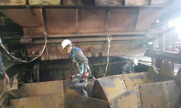 کسب رکورد در تعمیرات کارخانههای گلگهر سیرجان