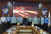 اجرای طرح عظیم ماشین ریختهگری اسلب عریض در فولاد خوزستان