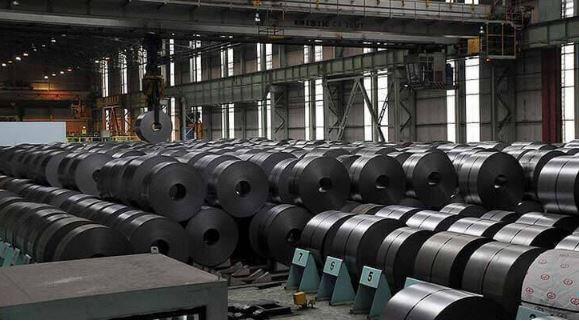 کاهش ۱۵ درصدی قیمت ورق گرم فولاد مبارکه در بورس کالا