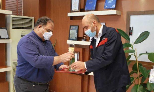 تقدیر مدیرعامل فولاد اکسین خوزستان از پزشکان شرکت به مناسبت روز پزشک