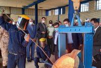افتتاح چند طرح تولیدی، صنعتی و کشاورزی با مشارکت بانک ملی
