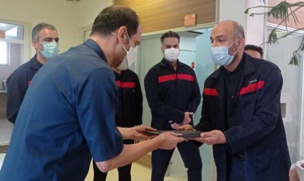 کارکنان اورژانس و فوریت های پزشکی شرکت؛ تلاشگران خط مقدم مقابله با کرونا