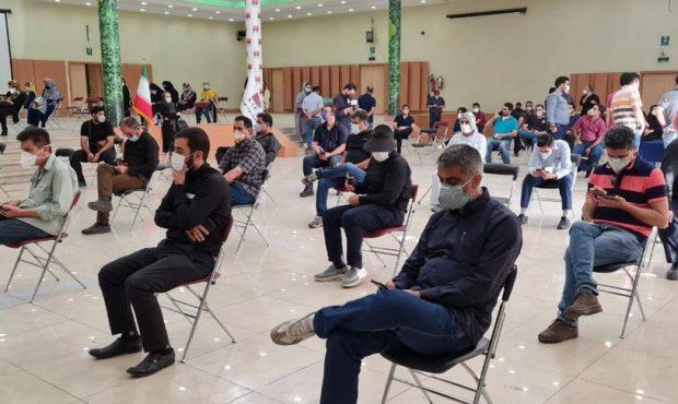 واکسیناسیون کارکنان، بازنشستگان و خانوادههای آنان در شرکت فولاد خوزستان