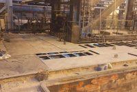 اجرای موفقیتآمیز تعمیرات گسترده واحد سازههای صنعتی فولاد خوزستان