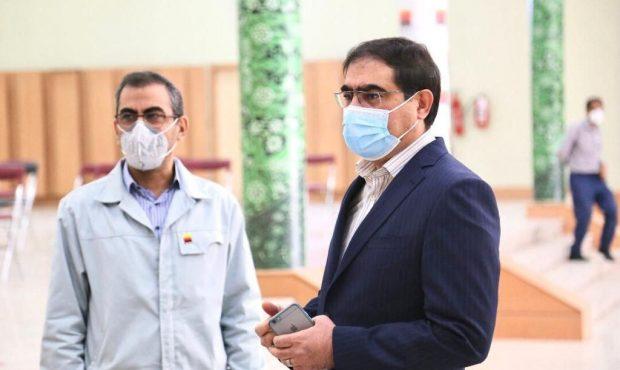 کارکنان فولاد خوزستان واکسینه می شوند