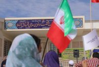 افتتاح مدرسه بانک اقتصادنوین در روستای حاجی قره