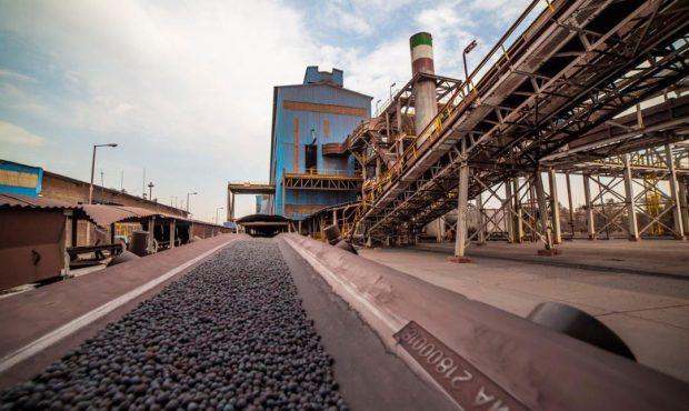 منطقه گلگهر ۴۳ درصد از کنسانتره و ۳۳درصد از گندله کشور را تولید میکند