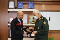 تأکید مدیرعامل فولاد اکسین خوزستان برای همکاری جهت راه اندازی باغ موزه دفاع مقدس
